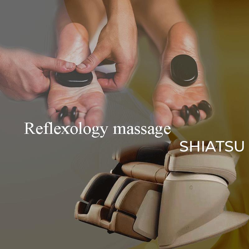 Massaggio riflessologico SHIATSU