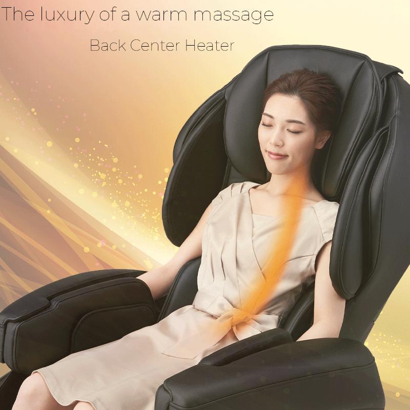 Il lusso di un massaggio caldo