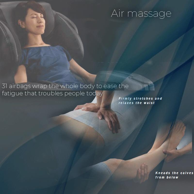 Massaggio con cuscini d'aria