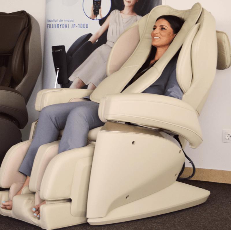 Fujiiryoki poltrona massaggiante